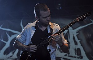 Jason Richardson (musician) - Richardson performing with Chelsea Grin in 2013