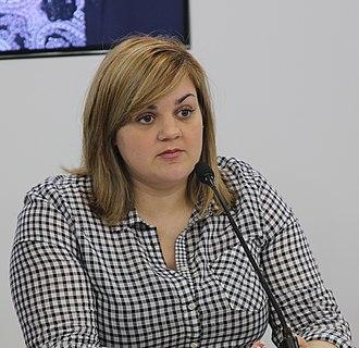 Abby Johnson (activist) - Abby Johnson at Spanish pro-life organization HazteOir in 2015.