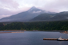 130726 Mount Rishiri view from Oshidomari Port in Rishiri Island Hokkaido Japan02s3.jpg