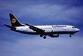 133ae - Lufthansa Boeing 737-330; D-ABER@ZRH;20.06.2002 (5198216944).jpg