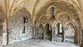 13th century arches in Winchester cathedral deanery. 03.jpg