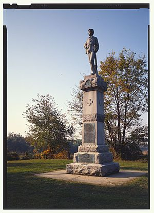 14th New Jersey Volunteer Infantry Monument - Image: 14th Regiment New Jersey Volunteer Infantry Monument 361633cv