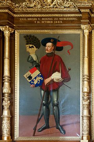 John IV, Duke of Mecklenburg - Image: 15 06 07 Schweriner Schloß Ralf R n 3s 7849