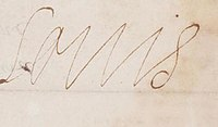1619 signature of King Louis XIII of France.jpg