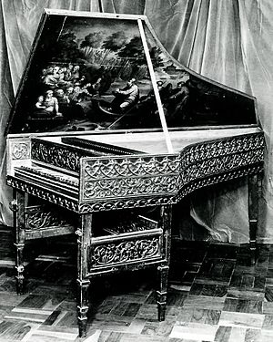 Hans G. Adler - From the collection – the ex Wanda Landowska 16th century gothic harpsichord