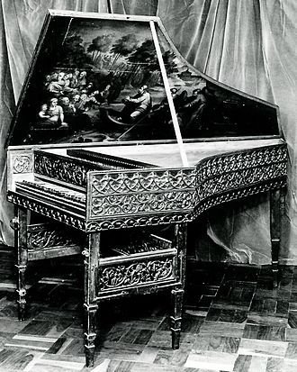 Hans G. Adler - From the collection – the ex Wanda Landowska 16th century gothic harpsichord