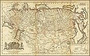 Rusia en 1730