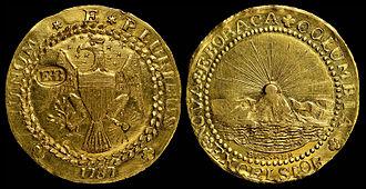 Brasher Doubloon - 1787 Brasher Doubloon