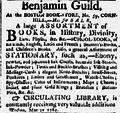 1789 Benjamin Guild Boston Book Store Independent Chronicle June4.png