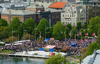 English: Norwegian constitution day celebratio...