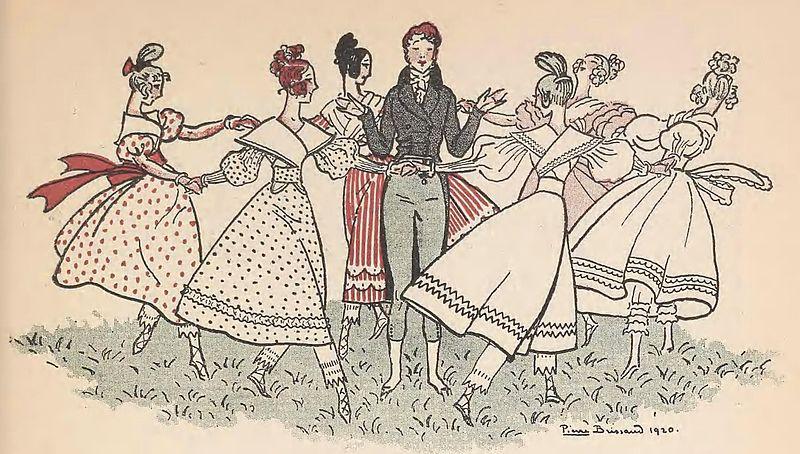 Pierre Brissaud. Ilustración de la revista