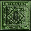 1851ca 6kr W DC Mi3a grün.jpg