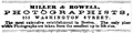 1864 Miller and Rowell photographers advert Boston Almanac.png