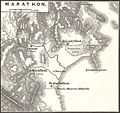 1865 Spruner Map of Greece, Marathon.jpg