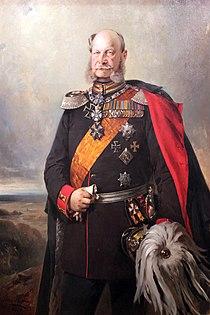 1879 Buelow Kaiser Wilhelm I anagoria.JPG