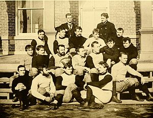 1891 Purdue football team - Image: 1891 Purdue football team