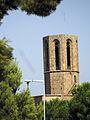 18 Campanar de Santa Maria de Pedralbes, des del c. Montevideo.jpg