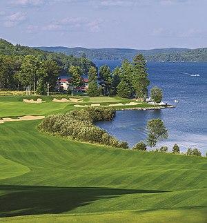 Bigwin Island - 18th Hole Bigwin Island Golf Club Photo
