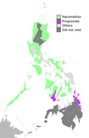 Philippine Assembly elections, 1912 - Image: 1912Philippine Assembly Elections