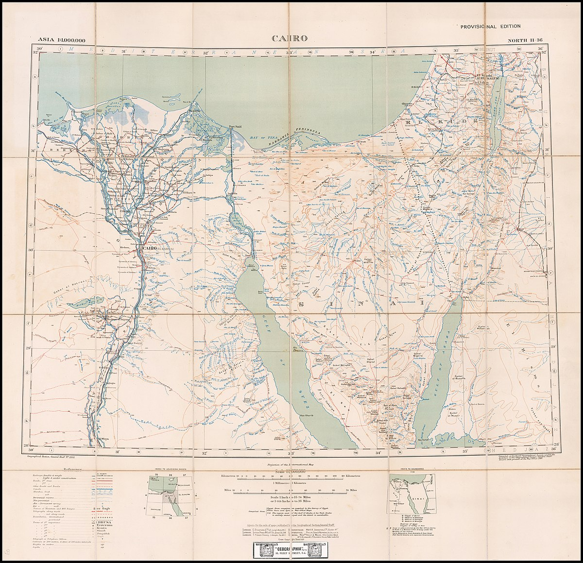 Picture of: File 1916 Map Of Sinai Peninsula Egypt The Gulf Of Suez And The Gulf Of Akaba By The British War Office Jpg Wikimedia Commons