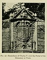 1917, Spanish Architecture of the Sixteenth Century, Escutcheon of Charles V over the Portal of the Monastery at Yuste.jpg
