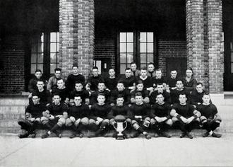 1917 Clemson Tigers football team - Image: 1917 Clemson Tigers football team (Taps 1918)