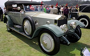 Rolls-Royce Limited - Silver Ghost open tourer by Hooper 1920