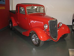 Ute (vehicle) - 1934 Ford Coupe Utility