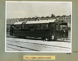 "NZR RM class (Wairarapa) - Image: 1937 ""Arawa"" Composite Railcar (10467691196)"