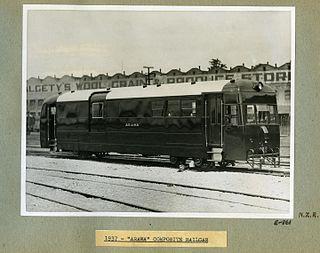 NZR RM class (Wairarapa) class of 7 New Zealand railcars