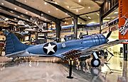 1940 Douglas SBD-3 Dauntless BuNo 2106 C-N 632 (National Naval Aviation Museum) (8832706694).jpg