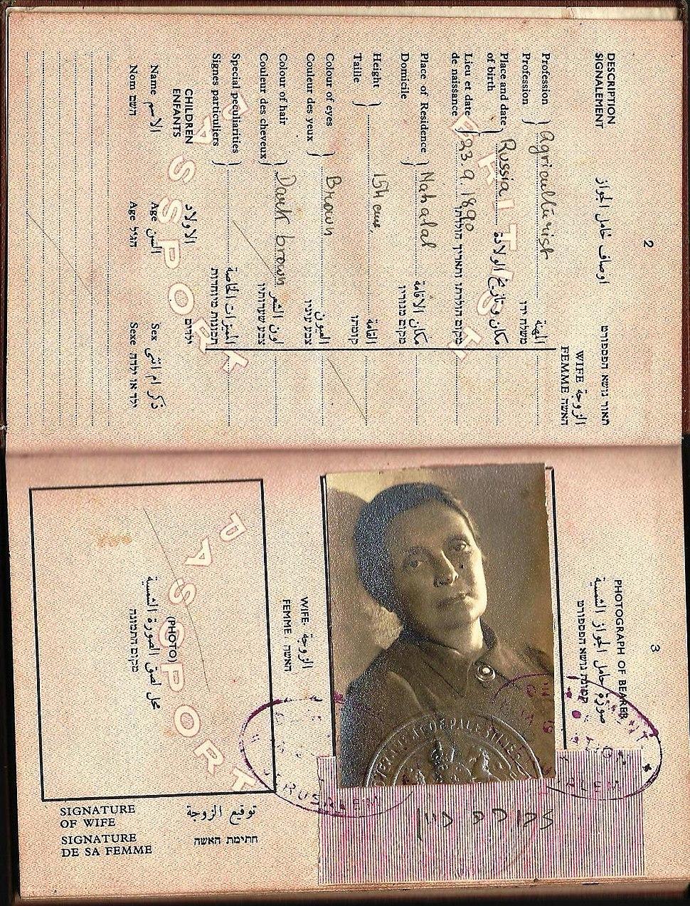 1946 PASSPORT