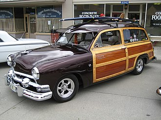 Ford Country Squire - 1951 Ford Country Squire