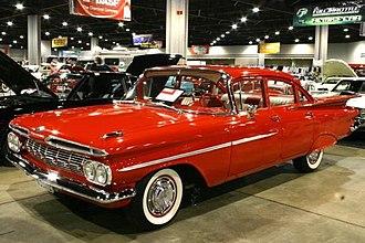 Chevrolet Biscayne - 1959 Chevrolet Biscayne 4-door sedan