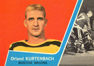 Orland Kurtenbach Canadian ice hockey player and coach