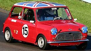 Mini (Mark I) - 1964 Austin Cooper S at the 2004 Watkins Glen SVRA