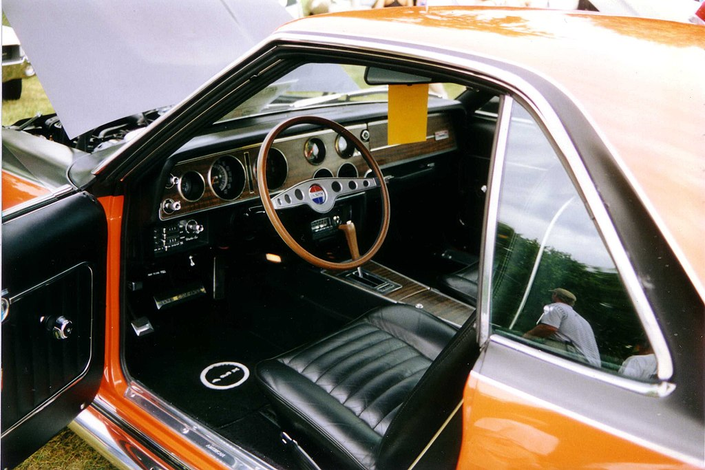 1970 AMC AMX interior