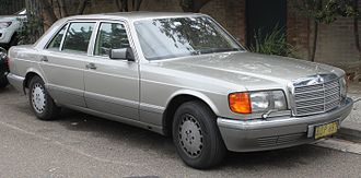Mercedes-Benz W126 - Facelift Mercedes-Benz 560 SEL (V126)