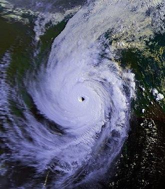 1991 Bangladesh cyclone - Image: 1991 Bangladesh Cyclone 29 apr 1991 0019Z