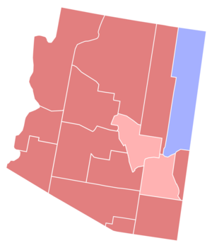 United States Senate election in Arizona, 1992 - Image: 1992 Arizona