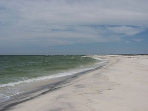 Gulf Islands National Seashore - Horn Island (in Mississippi).