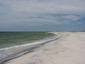 Gulf Islands National Seashore - Horn Island (in Mississippi).