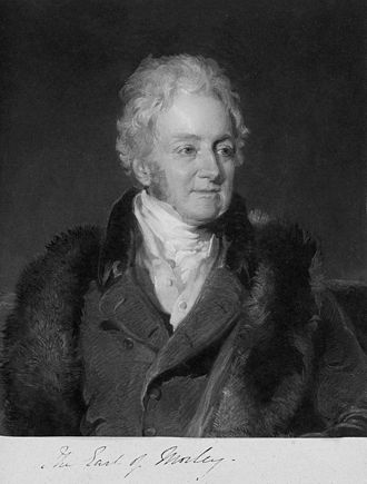 Frederick Richard Say - John Parker, 1st Earl of Morley (1772–1840), engraving by William Say, published by Colnaghi, after Frederick Richard Say