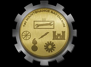 1st Maintenance Battalion - 1st Maintenance Battalion insignia