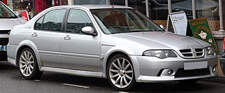 MG ZS - 2004 MG ZS 180 Saloon facelift