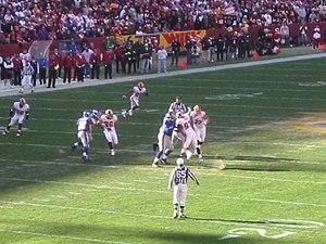2005 New York Giants season - Image: 2005 03 Fed Ex Stadium Washington Redskins vs New York Giants