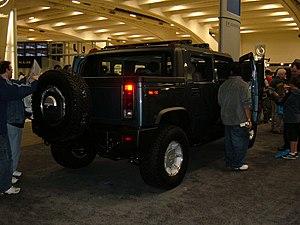 Hummer H2 - Hummer H2 sport utility truck