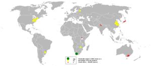 Vermiculite - Vermiculite output in 2005