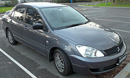 2006-2007 Mitsubishi Lancer (CH MY07) ES Limited Edition sedan 01.jpg