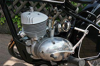 Single-cylinder engine Piston engine with one cylinder
